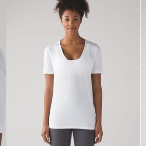 Lululemon Love Tee IV White - Size 12